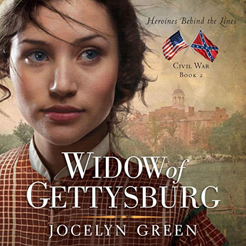 Widow of Gettysburg audiobook cover art