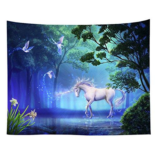 THEE Unicornio Tapices de Pared Decoración de Pared de la Sala