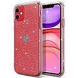 ULAK Coque iPhone 11 Paillettes, iPhone 11 Transparente Étui Housse Souple Bumper TPU Protection...