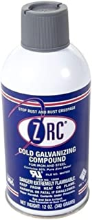 ZRC 10000 Cold Galvanizing Compound | 12 Ounce Aerosol Can | Iron and Steel Corrosion Protection | Matches Hot-Dip Galvanized Performance | Contains 95-Percent Metallic Zinc