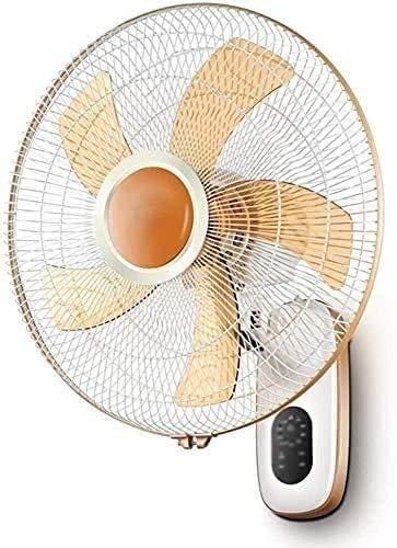 GTBF Ventilador eléctrico de Estilo Antiguo, Abanico la Pared del Ventilador enfriamiento Sucia - Control Remoto Cocina Restaurante Sacudiendo Cabeza Cabeza silenciosa