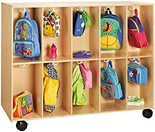 Jonti-Craft 3946JC 20 Section Mobile Backpack Cubbie
