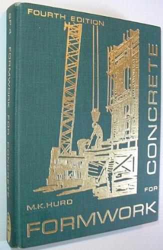 Formwork for concrete (Special publication - American Concrete Institute)