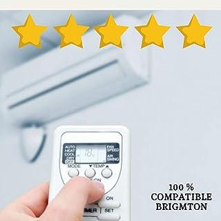 Mando Aire Acondicionado BRIGMTON - Mando a Distancia Compatible 100% con Aire Acondicionado BRIGMTON Entrega en 24-48 Horas. BRIGMTON MANDO COMPATIBLE