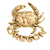 Creative Pewter Designs Dungness Crab/Oregon Pin, A700...