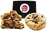 Baby g's Chocolate Chip Cookies Gourmet Gift Basket- Desserts for Delivery- Fresh Baked Food Gift Box 2 Lbs. Large 3 oz. each Individually Wrapped Birthday Corporate Holidays Families