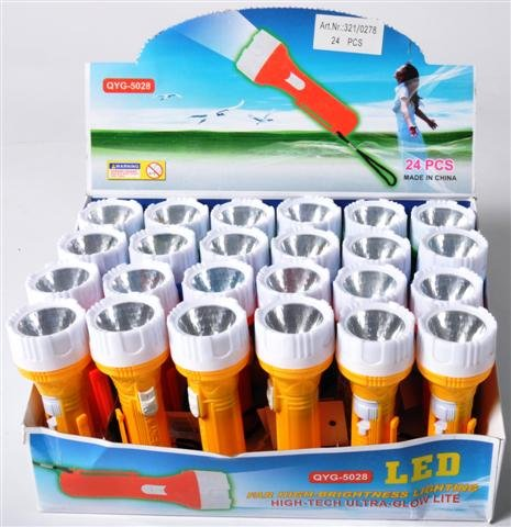 Taschenlampe-4farb-sort-DIS-ca-L-9cm