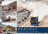 Bergbau - Die Faszination der riesigen Maschinen (Wandkalender 2022 DIN A4 quer): Der Einsatz von gigantischem Equipment im Tagebau (Monatskalender, 14 Seiten )