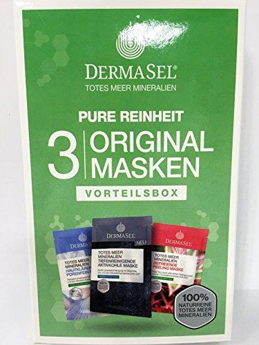 DERMASEL Maskenbox Pure Reinheit limited edition 3X12 ml