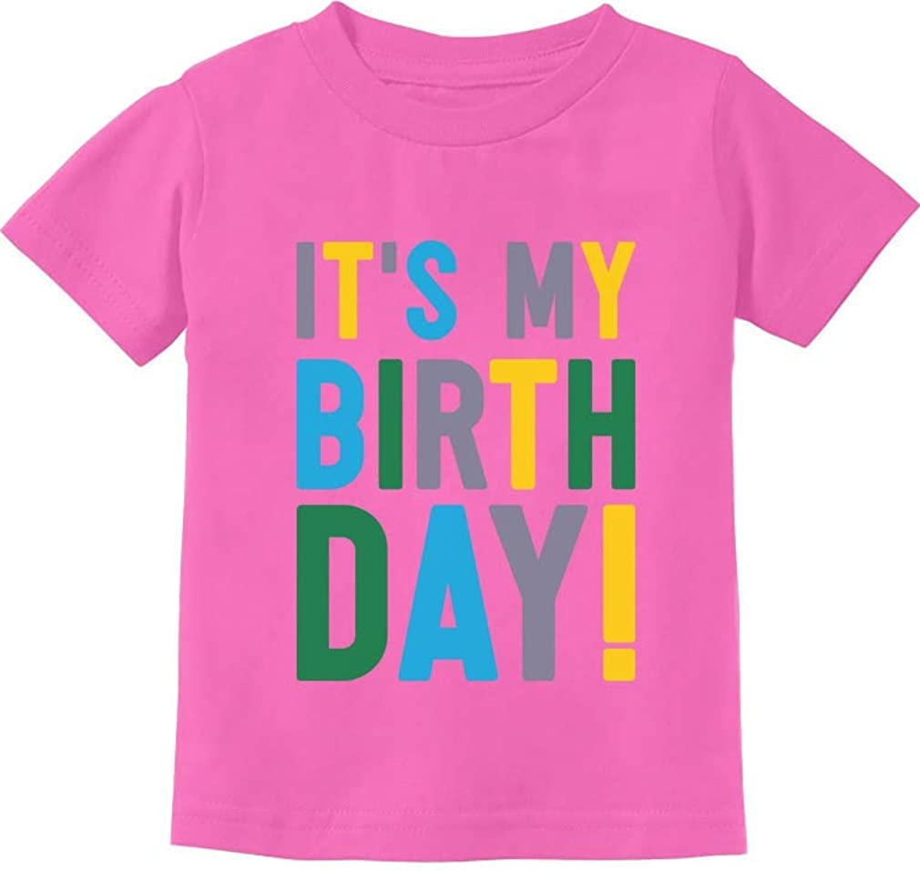 It's My Birthday Boy Girl Shirt Party Outfit Toddler Kids T-Shirt