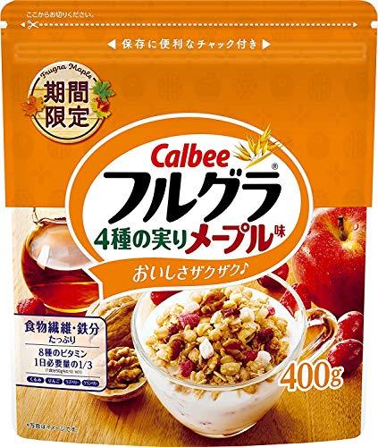 カルビー フルグラ 4種の実りメープル味 400g