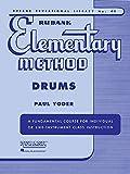 Rubank Elementary Methods Drums (Rubank Educational Library)