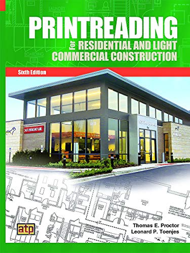 Compare Textbook Prices for Printreading for Residential and Light Commercial Construction 6 Edition ISBN 9780826904843 by Toenjes, Leonard P.