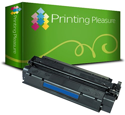 Printing Pleasure Toner Compatibile per HP Laserjet 1000 1005 1200 1220 1300 3080 3300 3310 3320 3330 3380 Canon LBP-1210 LBP-558 Serie | C7115A 15A Q2613A 13A EP-25, Colore: Nero