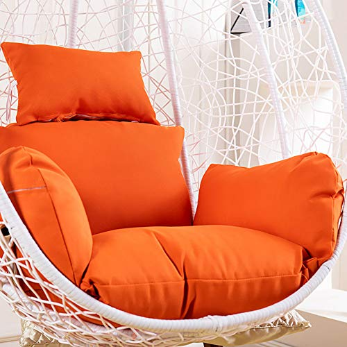 Washable Indoor And Outdoor Egg Nest Chair Cushion Pad,Thicken Waterproof Hanging Basket Chair Cushions,Hanging Egg Hammock Chair Cushion