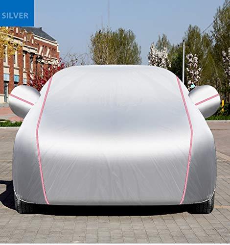 Impermeable Cubierta del Coche,Auto Car Cover Compatible con B-M-W Z4 Z8 I3 I8,Funda Para Coche Multicapa Impermeable Todo Clima for Cualquier Estación de Protección UV Exterior Cubiertas