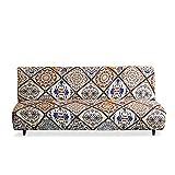VanderHOME Funda de sofá, Funda de sofá Universal, Funda de sofá elástica Antideslizante, Funda de sofá Cama de Estilo Simple,Marruecos 1 Piezas