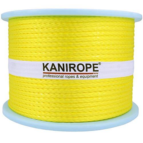 1811 tress/ée Kanirope/® Corde Cordage PP Polypropyl/ène MULTIBRAID 4mm 50m Noir