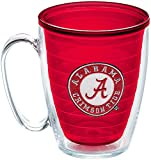 Tervis Alabama Crimson Tide Insulated Tumbler with Emblem, 16oz Mug, Red
