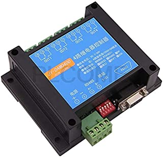 Computer Cables & Connectors - Customizable 4 Channels Relay Controller Isolated Board RS232 RS485 Wifi Ethernet, Modbus R...