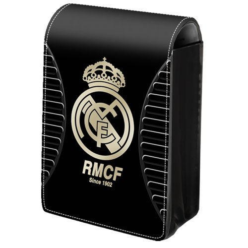 Exclusive Real Madrid Handy Tasche Kompaktkamera Tasche Lackleder Look