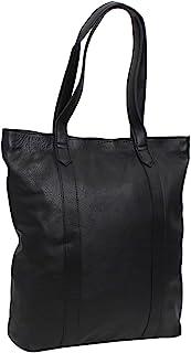 Gusti Handtasche Leder - Paris Ledertasche Umhängetasche Laptoptasche Schwarz Leder Damen