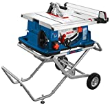Bosch Power Tools 4100-10 Tablesaw - 10 Inch Jobsite Table Saw with 25 Inch Cutting Capacity and...