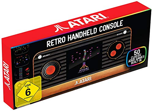 "Atari 2600 Retro Gaming Handheld inkl. 50 Games & TV-Kabel ""NEU IM ANGEBOT"""