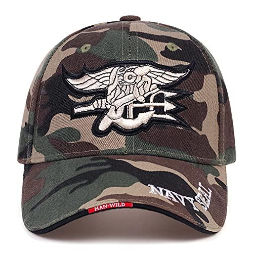 N/A Gorra de Beisbol Moda para Hombre de la Marina de los EE. UU. Gorra de béisbol Navy Seals Caps Army Cap...