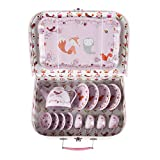 Sass & Belle - Maletín Picnic Set de té Woodland Friends, Color Rosa (JEUX005)