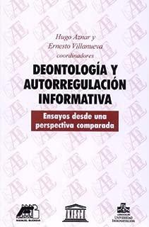 Deontología y autorregulación informativa: Ensayos desde una perspectiva comparada (Tinta y voz) (Spanish Edition)