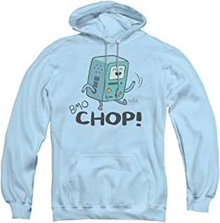 Adventure Time BMO Chop Unisex Adult Pull-Over Hoodie for Men and Women