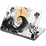 Skinit Decal Laptop Skin Compatible with Yoga 910 2-in-1 14in Touch-Screen - Officially Licensed Disney Jack Skellington Pumpkin King Design