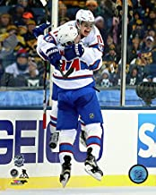 Brendan Gallagher & Alexei Emelin Montreal Canadiens 2016 NHL Winter Classic Action Photo (Size: 20