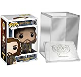 Funko Pop Movie: Harry Potter- Sirius Black Vinyl Figure + FUNKO PROTECTIVE CASE