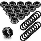 16 Pieces Skateboard Truck Nuts and 16 Pieces...