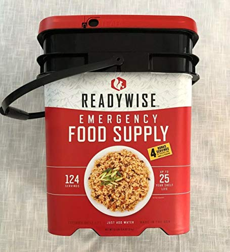 ReadyWise 124 Serving Ultimate Preparedness Pack, 25 Year Shelf Life