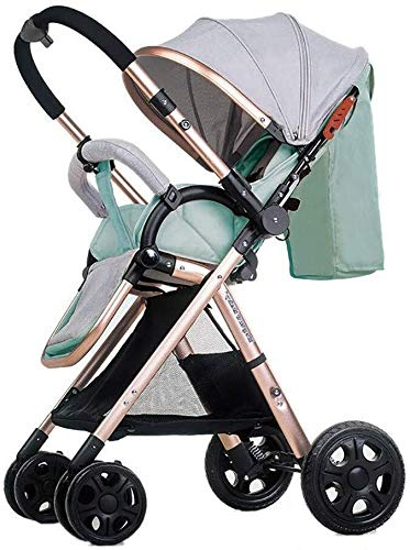 Buy Bargain TZZ Baby Stroller Reversible Infants Buggy with 5-Point Harness for Toddler Girls and Bo...