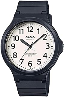 Casio Watch Analogue Display and Resin Strap