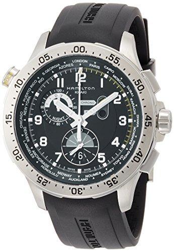 [Hamilton] Hamilton Reloj Khaki Chrono World Temporizador H76714335 Ho