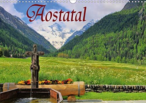 Aostatal (Wandkalender 2021 DIN A3 quer)