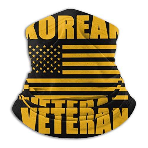Bandera de veterano coreano Army Pride Mascarilla media máscara Bandana multifuncional Protector solar Bufanda mágica Headwarp transpirable