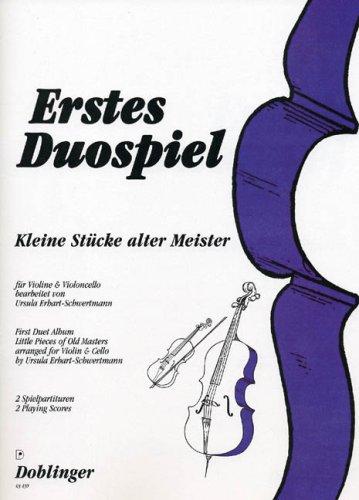 Erstes Duospiel. Violine, Violoncello