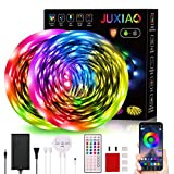 10M/32.8 ft LED Light Strip JUXIAO Led Music Sync Color Changing LED Rope/Tape