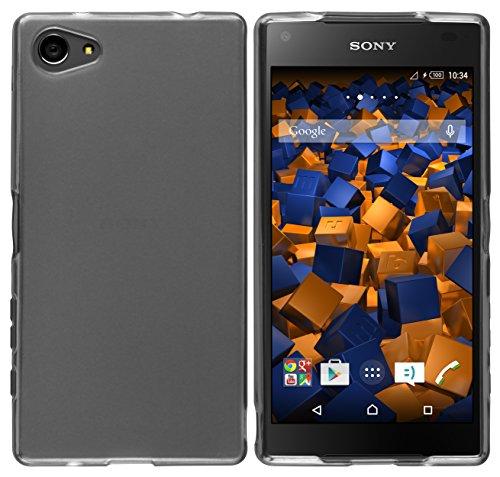 mumbi Schutzhülle für Sony Xperia Z5 Compact Hülle transparent schwarz
