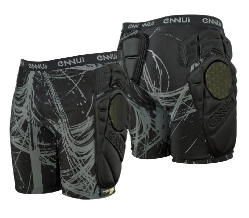 Ennui - Schutzhosen für Skater in Schwarz