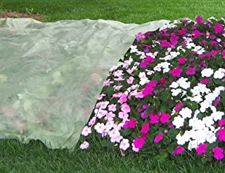 Frost Protek Plant Cover, 5 Feet By 10 Feet, Breathable, Lightweight Polypropylene Fabric