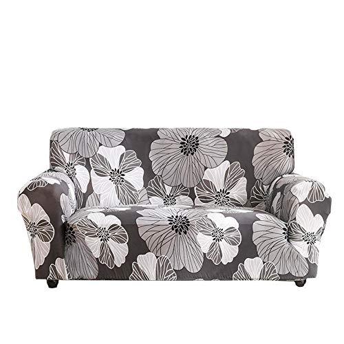 Funda de sofá Todo Incluido Elástica Funda de Antideslizante para sofá Sofá Lavable,Anti-ácaros Antiarrugas extraíble Facile installare Fácil Limpiar-2 Seater 145-185cm Flor