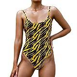 Trajes de Baño Animal Print Bikini Mujer Una Piezas Bañador Natacion Mujer Tankinis