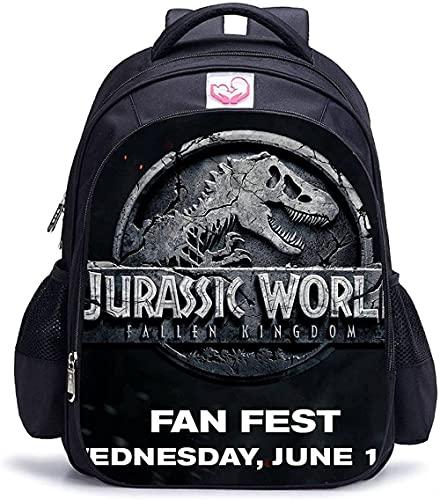 Baby Spielzeug Jurassic Park - Zaino scolastico con stampa 3D, 6., L